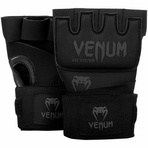 Venum Venum Innere Handschuhe Gel Kontact Handschuhe Schwarz Schwarz