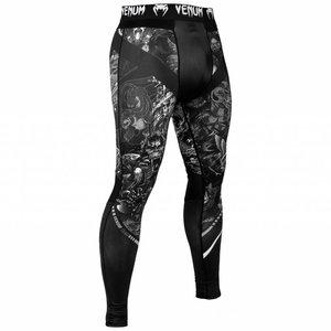 Venum Venum Art Spats Tights Legging Black White Venum Clothing