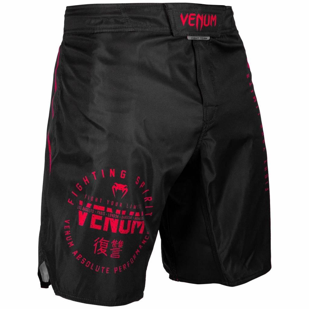 Venum Venum SIGNATURE MMA Fightshorts Schwarz Rot