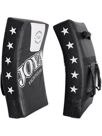 Joya Fight Wear Joya Fight Gear Curved Kick Shield Vinyl 70x35x15cm Black