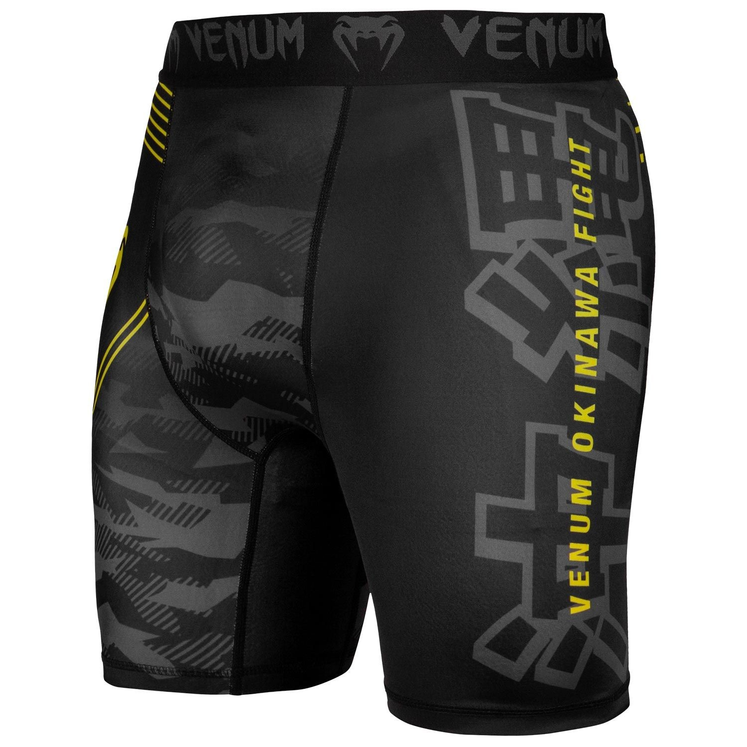 Venum Okinawa 2.0 MMA Fight Shorts Black//Yellow