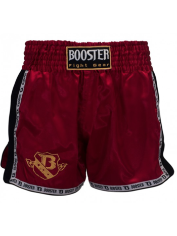 Booster Booster Muay Thai ShortsTBT PRO 4.25 Rot Booster Store Germany