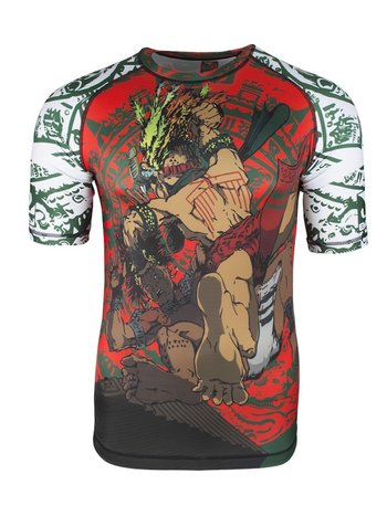 Bad Boy Bad Boy Warrior Society Rash Guard Vechtsport Kleding