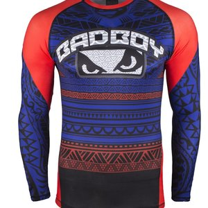 Bad Boy Bad Boy Rashguard Art of Lua Blue Martial Arts Shop Europe