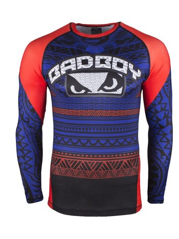 Bad Boy Bad Boy Rashguard Art of Lua Blauw Vechtsport Shop Nederland