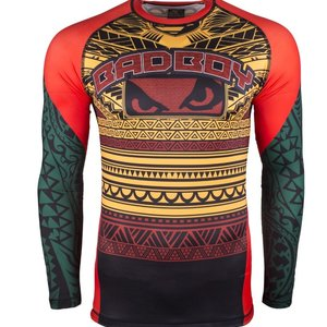 Bad Boy Bad Boy Rashguard Art of Lua Yellow - Bad Boy Fightwear