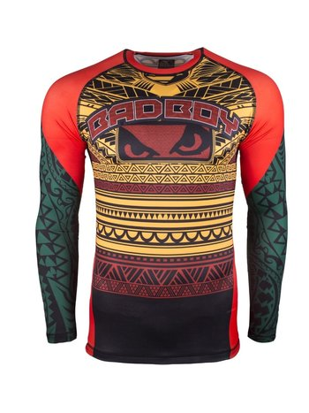 Bad Boy Bad Boy Rashguard Art of Lua Yellow Green MMA Shop Nederland