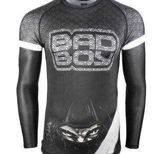 Bad Boy Bad Boy Rash Guards Shadow Assassin L/S Black