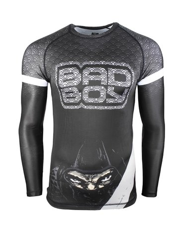 Bad Boy Bad Boy Rash Guards Shadow Assassin L/S Zwart