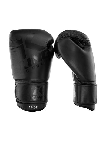 King Pro Boxing King Pro Boxing Bokshandschoenen Black on Black KPB/BG 8