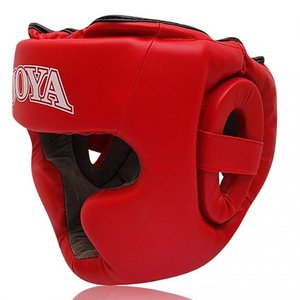 Joya Fight Wear Joya Head Gear Junior Head Protection RED Joya Fight Gear