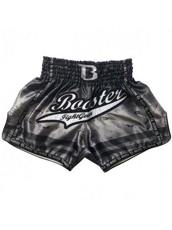 Booster Booster Muay Thai Kickboxen ShortsTBT Chaos 4 Schwarz Silber