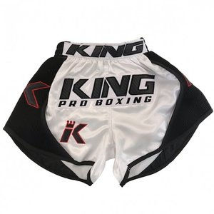 King Pro Boxing King Pro Boxing Muay Thai Kickboxing Shorts KPB/BT X2 White