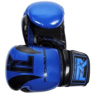 Punch Round™  Punch Round SLAM Boxing Gloves Blue Black