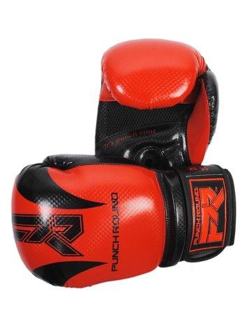 PunchR™  Punch Round SLAM Boxing Gloves SDX Red Black