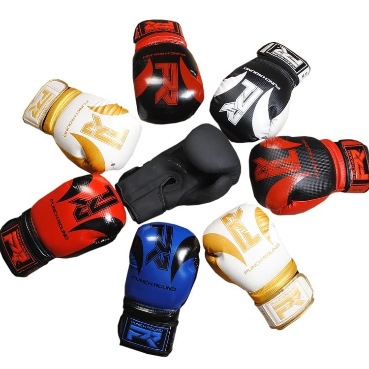 Punch Round™  Punch Round SLAM Boxing Gloves Blue Black