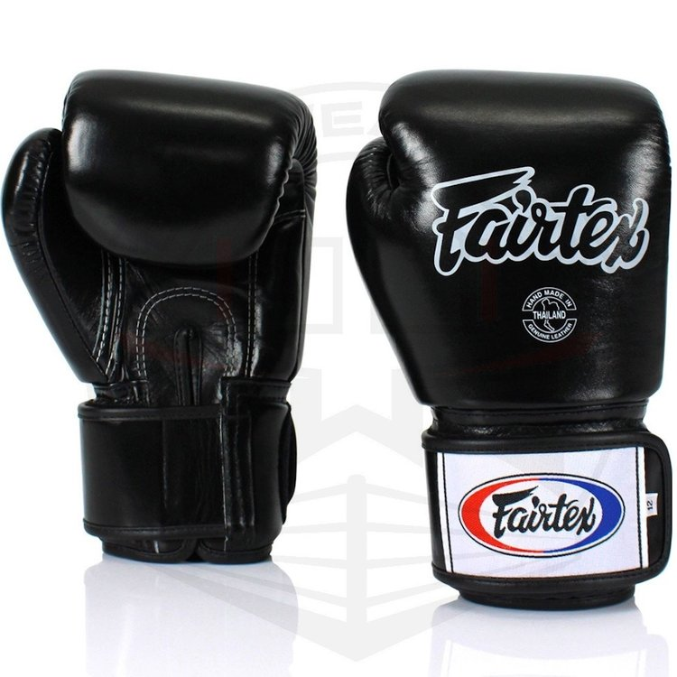 Fairtex Fairtex Muay Thai Boxing Gloves BGV1 Black Fairtex Fightgear