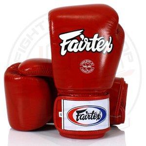 Fairtex Fairtex (Kick)Boxing Gloves BGV1 Red Fairtex Fight Gear