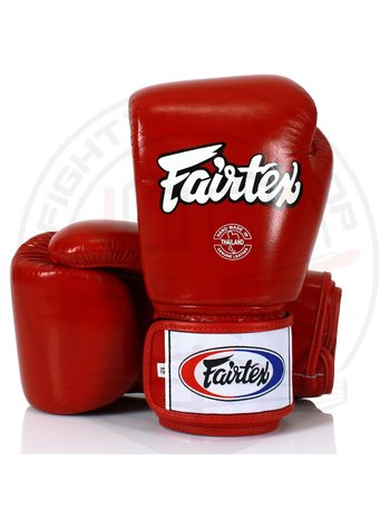 Fairtex Fairtex (Kick)Bokshandschoenen BGV1 Rood Pro Fight Gloves