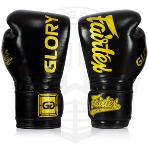 Fairtex Glory Boxing Gloves BGVG1 Black by Fairtex Fight Gear