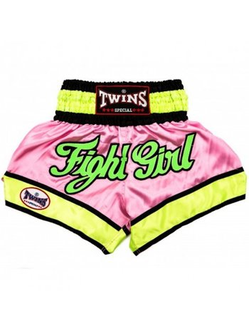 Twins Special Twins Ladies Kickboxing Shorts TTBL062 Pink