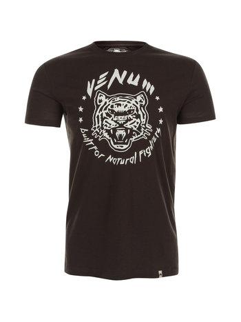 Venum Venum Natural Fighter Tiger T Shirt Brown Venum Shop Europe