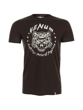 Venum Venum Natural Fighter Tiger T-shirt Bruin Fightshop Nederland