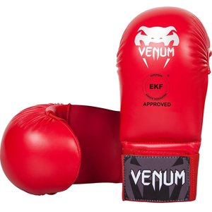 Venum Venum Karate Handschoenen zonder Duim Rood Venum Fight Gear