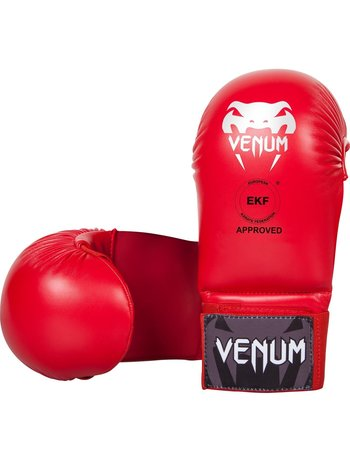 Venum Venum Karate Mitts Handschuhe ohne Daumenschutz Rot