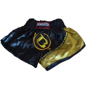 Booster Booster Kickboks Broekje Muay Thai Short TBT PRO 3 Zwart Goud