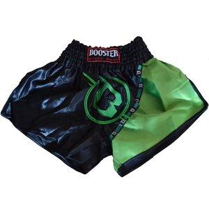 Booster Booster Kickboks Broekje Muay Thai Short TBT PRO 3 Zwart Groen