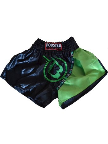Booster Booster Muay Thai Kickboxen ShortsTBT PRO 3 Schwarz Grün