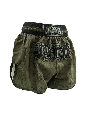 Joya Fight Wear Joya Muay Thai Kickboxing Shorts Fight Fast Green