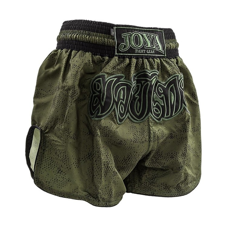 Joya Fight Wear Joya Muay Thai Kickboxing Shorts Fight Fast Grün