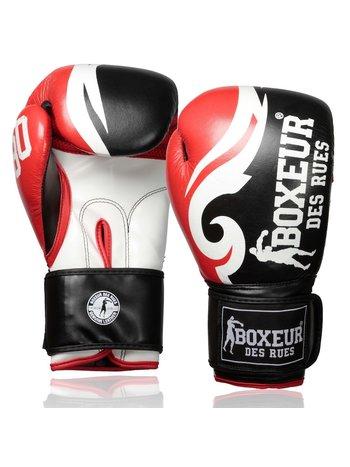 Boxeur des Rues Boxeur des Rues Boxhandschuhe Trible Red Leather
