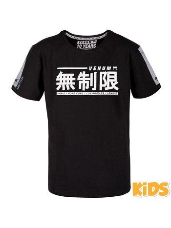Venum Venum Kids Limitless T Shirt Zwart Venum Vechtsport Shop