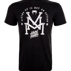 Venum VenumHard HittersT Shirt Black Fightsports Clothing