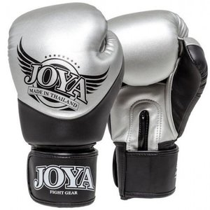 Joya Fight Wear Joya Bokshandschoenen Pro Thai Silver Black van Joya Fightgear