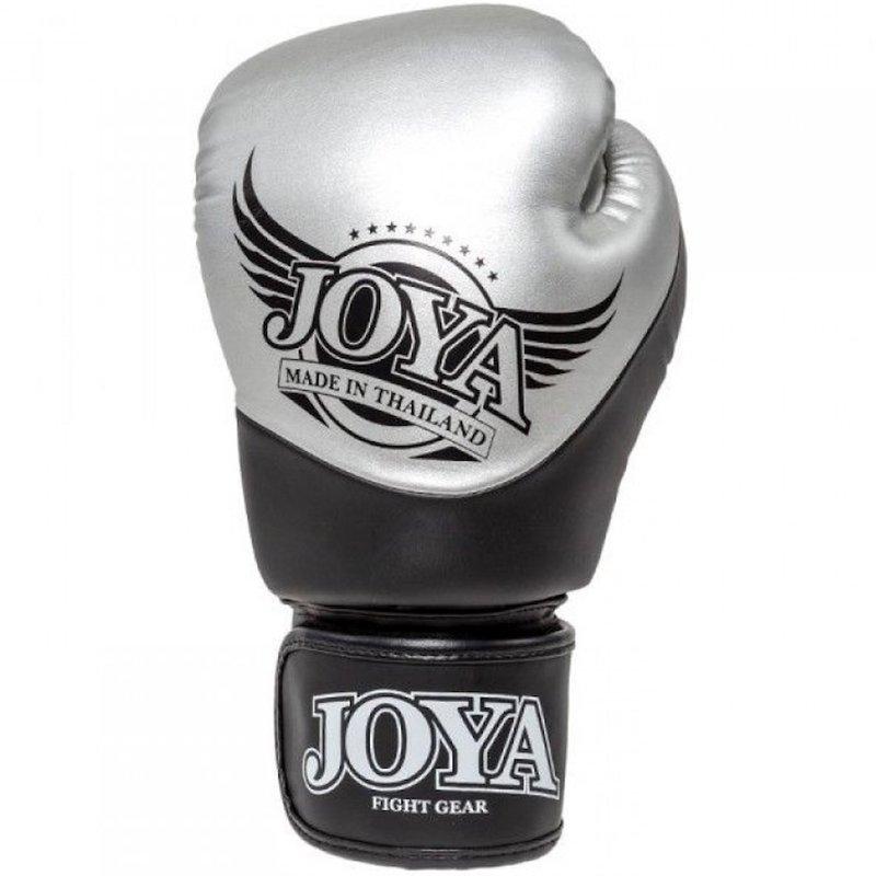 Joya Fight Wear Joya Bokshandschoenen Pro Thai Silver Black van Joya Fightgear