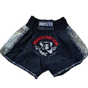 Booster Booster Muay ThaiKickboxing ShortsTBT Pro 4.3 Black Silver