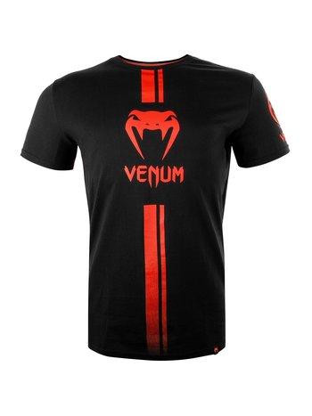 Venum Venum Logos T Shirt Zwart Rood