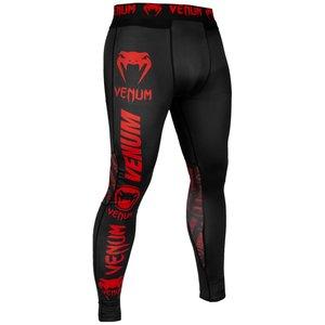 Venum Venum Logos Legging Spats Tights Black Red
