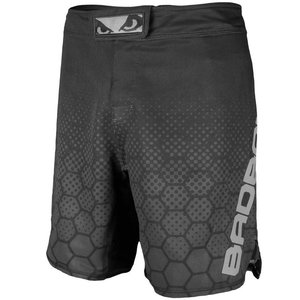 Bad Boy Bad Boy Fight Shorts Legacy 3.0 MMA Shorts Black Gray