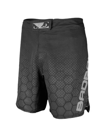 Bad Boy Bad Boy Fight Shorts Legacy 3.0 MMA Shorts Black Grey