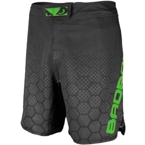 Bad Boy Bad Boy Fight Shorts Legacy 3.0 MMA Shorts Black Green