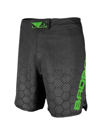 Bad Boy Bad Boy Fight Shorts Legacy 3.0 MMA Shorts Zwart Groen