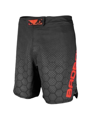 Bad Boy Bad Boy Fight Shorts Legacy 3.0 MMA Shorts Zwart Rood