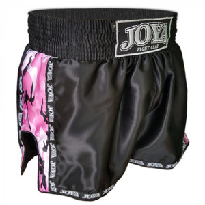 Joya Fight Wear Joya Damen Kickbox Hosen Camo Rosa Muay Thai Shorts