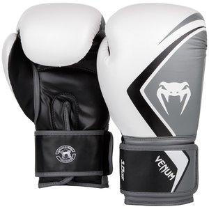 Venum Venum Contender Boxing Gloves 2.0 Black White Venum Gear
