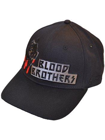 Lauren Rose Lauren Rose Blood BrotherFashion Fit Strapback Zwart